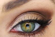 Makeup & hair hazel eyes autumn skin tone
