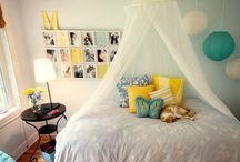 bedroom ideas for the twins / by Jennifer Swain