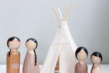 DIY - Peg dolls