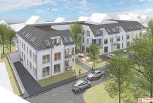 Eigentumswohnungen Kahl / Calder Höfe - hier entstehen Eigentumswohnungen.