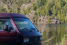 Vintage Camper Van and Boler Trailer Rentals / Rving Canada, van campers for rent, camping trailer for rent, camping with family, camper trailer for rent,  camping in a camper & muchmore!