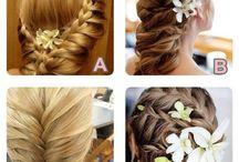 Hairs and Mehndi Designs