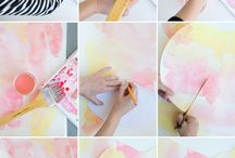 Watercolour inspiration/party