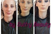 Sultry Beauty work / My make up