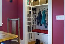 Entryway closet / by Susan Peddle