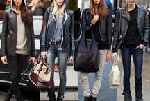Modelki w stylu ulicznym