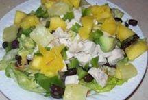 all kinds of salads