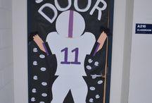 homecoming door decorations