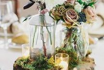 Rustic/Forest Centerpieces