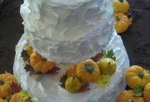 Wedding Cakes Autumn