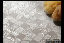 Mosaic Collection / This is one of our ranges of beautiful porcelain mosaics available in various color ways. All come in a 30cm x 30cm format.