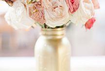 Bryllup borddekorasjon