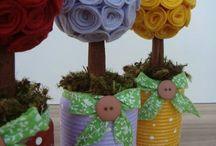 dekoracje filcowe