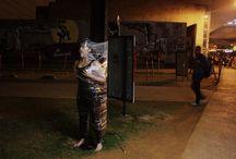 PLASTIFICADOS / PLASTIFICADOS Coisificação dos corpos.  Ação performática de estudo para tcc do curso de dança noturno da ETEC de Artes de São Paulo - SP Concepção por Thiago Cohen Fotos por Priscila Almeida