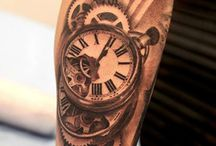 tatoo temps et horloge