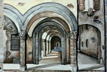 #OPERE SU BOLOGNA / La rappresentazione di #Bologna sotto vari #puntidivista artistici