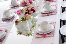 high tea decoratie
