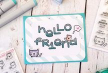 Hello Cards / Send a friend a little note just to say hello. This board is full of fun designs to inspire your creativity.