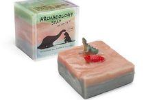Cool Paleontology Soap