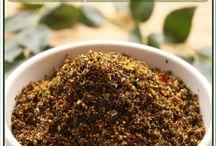 chutneys & spreads / Home made recipes