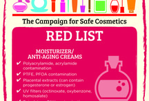 """Red List / To use our """"red lists,"""" avoid the chemicals of concern on the listed for each product category on the page: shampoo, conditioner, creams, sunscreen, color cosmetics, hair color, and skin lighteners. - See more at: http://sc-dev.rootid.in/chemical/red-list/#sthash.OlYxjinu.dpuf"""