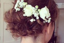 Short Wedding Hairstyle Inspiration / Gorgeous Short Bridal Hairstyle