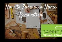 Organizing a Renovation