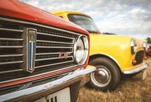 Up close and personal with a vintage MINI 1275 GT. What's the boldest #ClassicMini you've seen? - photo from miniusa