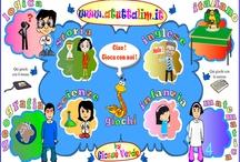 Giochi on line / SCUOLA PRIMARIA: giochi interattivi riguardanti le diverse discipline.  / by Anna Maria Lia