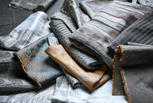 Silvers / Incorporate shades of silver into your home with striking, textural Anthology fabrics and wallpapers