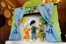 Puppet Activities for Kids / Let your kids put on a show with these adorable puppets.  Check out Green Kid Crafts products on http://www.GreenKidCrafts.com