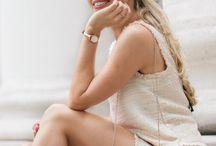 Chanel Oberlin inspired wardrobe