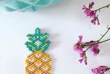Peyote & Brick stitch