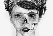 Ilustración realista a lápiz / By Sofía Hernández