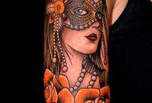 tattoos / by Whitney Bousman