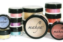 Our Products / Mahya Mineral Makeup offers 100% natural crushed minerals prepared using the highest quality of minerals with health and environment consciousness.  There are no harsh Chemicals, Paraben, Talc, Bismuth, Fragrance, Gluten and other man-made products that have negative side effects with its use.