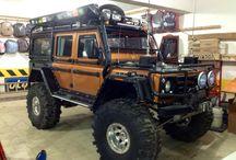 Land Rover Defender inspirations