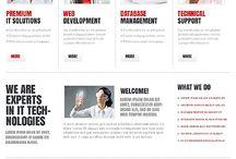 Web design / by M. Parker Graphic Design