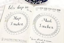 Bujo Sleep Tracker / bullet journal, sleep tracker, sleep log, bujo