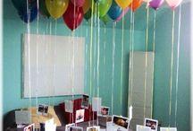 birthday / anniversay crazy ideas