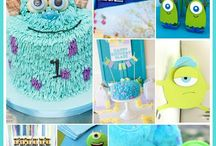 Monsters Inc/University party