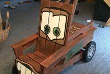 DIY kids chairs