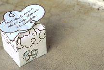 Χάρτινα κουτάκια δώρου