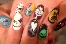 nail / halloween 2014  cute chinoiserie nail art
