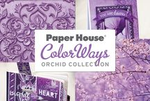 ColorWays Orchid Collection / Paper House ColorWays Orchid Collection.