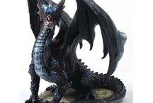 Figurines de dragons / Images de figurine dragon. Décoration Collection créature heroic fantasy
