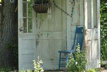 tuin deur