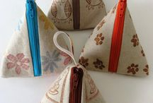 Handmade make up bags & pouches