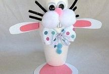 25 Ideas easter crafts