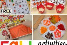 Homeschooling: Fall Activities